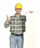 Handyman show bill Royalty Free Stock Photo