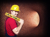 Handyman skill Stock Photo