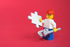 Handyman solution Stock Image