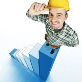 Handyman on stat Stock Photos