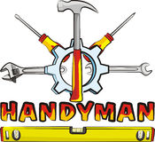 Handyman - tools Stock Images