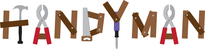 Handyman Tools Royalty Free Stock Photo