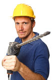 Handyman at work Royalty Free Stock Images