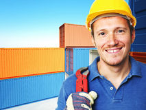 Handyman at work Royalty Free Stock Photography
