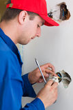 Handyman working Stock Photos