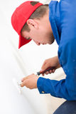 Handyman working Royalty Free Stock Image