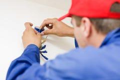 Handyman working Stock Photos