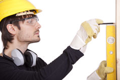Handyman working Royalty Free Stock Photography