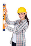 Handywoman Royalty Free Stock Photos
