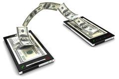 Handyzahlung Lizenzfreies Stockbild