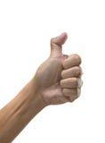 Handzeichen Lizenzfreies Stockbild