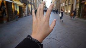 Handzeichen-Straße Lizenzfreies Stockbild