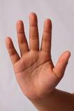 Handzeichenendbruch langsam lizenzfreies stockbild