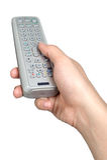 Handzeichenlage-Griffdirektübertragung lokalisiert Stockfotografie