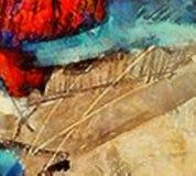 Handzeichnung in der Ölabstraktion Grunge Beschaffenheitshintergrund Weinleseentwurfsmuster Kreative Tapete Aquarellmischkunst stockfoto