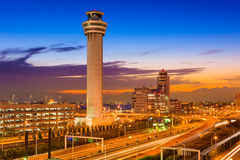 Haneda-Flughafen Stockbild