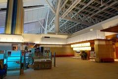 Haneda flygplats, Japan - Tokyo internationell flygplats Royaltyfria Foton