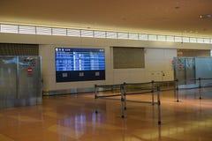 Haneda przyjazdu lotniskowy lobby Fotografia Royalty Free