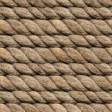 Hanf-Seil nahtlos Stockbilder