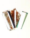 Hanf-Zigarette Lizenzfreie Stockbilder