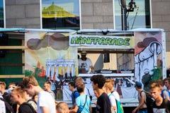 Hanfparade, Berlin Photos stock