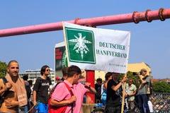 Hanfparade, Berlin Royalty Free Stock Photography