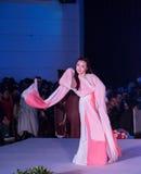 Hanfu舞蹈--打开的展示 免版税图库摄影