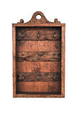 Hang ключей на деревянной доске стоковое фото rf
