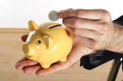 Hang, Coin And Piggybank