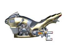 Hang fiets royalty-vrije illustratie
