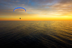 Hang glider Stock Photo