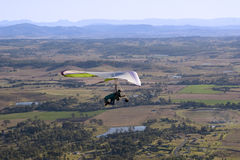 Hang glider 3 in Queensland Australia Royalty Free Stock Photo