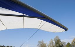 Hang glider detail Stock Photo