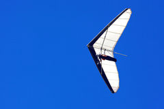 Hang Glider. A hang glider flies off Shelley Beach in West Cape Howe National Park, near the towns of  Albany and Denmark in Western Australia Royalty Free Stock Image