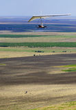 Hang-glider flight Stock Photos