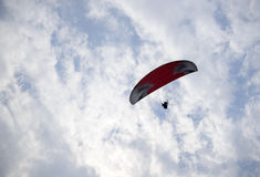 hang glider flight Royalty Free Stock Photography