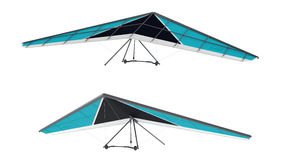 Hang glider isolated Stock Photography