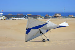 Hang Glider. On Jockey's ridge Stock Image