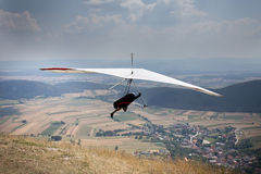 Hang glider Royalty Free Stock Images