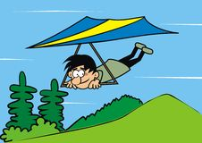 Hang-glider Stock Images