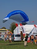 Hang-glider, Radom, Poland Royalty Free Stock Photo