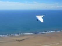 Hang Glider at Rhossili Royalty Free Stock Photo