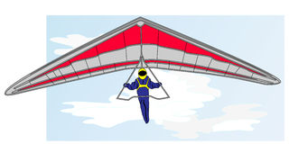 Hang glider  Stock Images