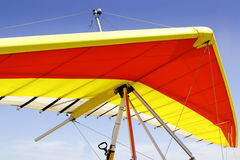Hang glider wing Stock Images