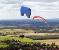 Hang gliders Royalty Free Stock Photos