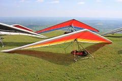 Hang Gliders Imagens de Stock Royalty Free
