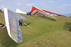 Hang Gliders royalty-vrije stock foto's