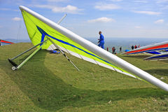 Hang Gliders Royalty Free Stock Photography