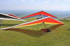 Hang Gliders Royalty Free Stock Images