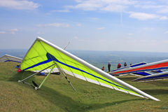 Hang Gliders Stock Images